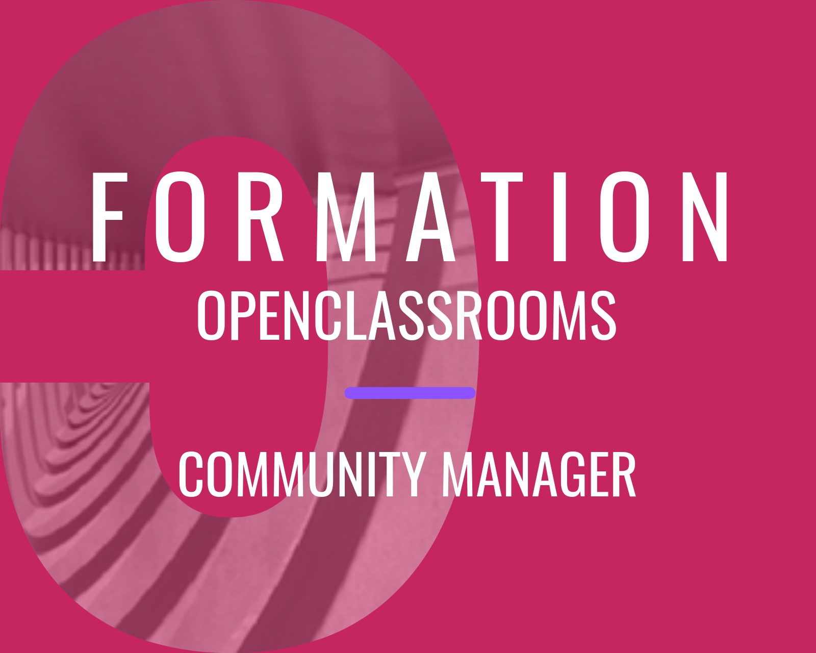 Formation Community Manager avec OpenClassrooms