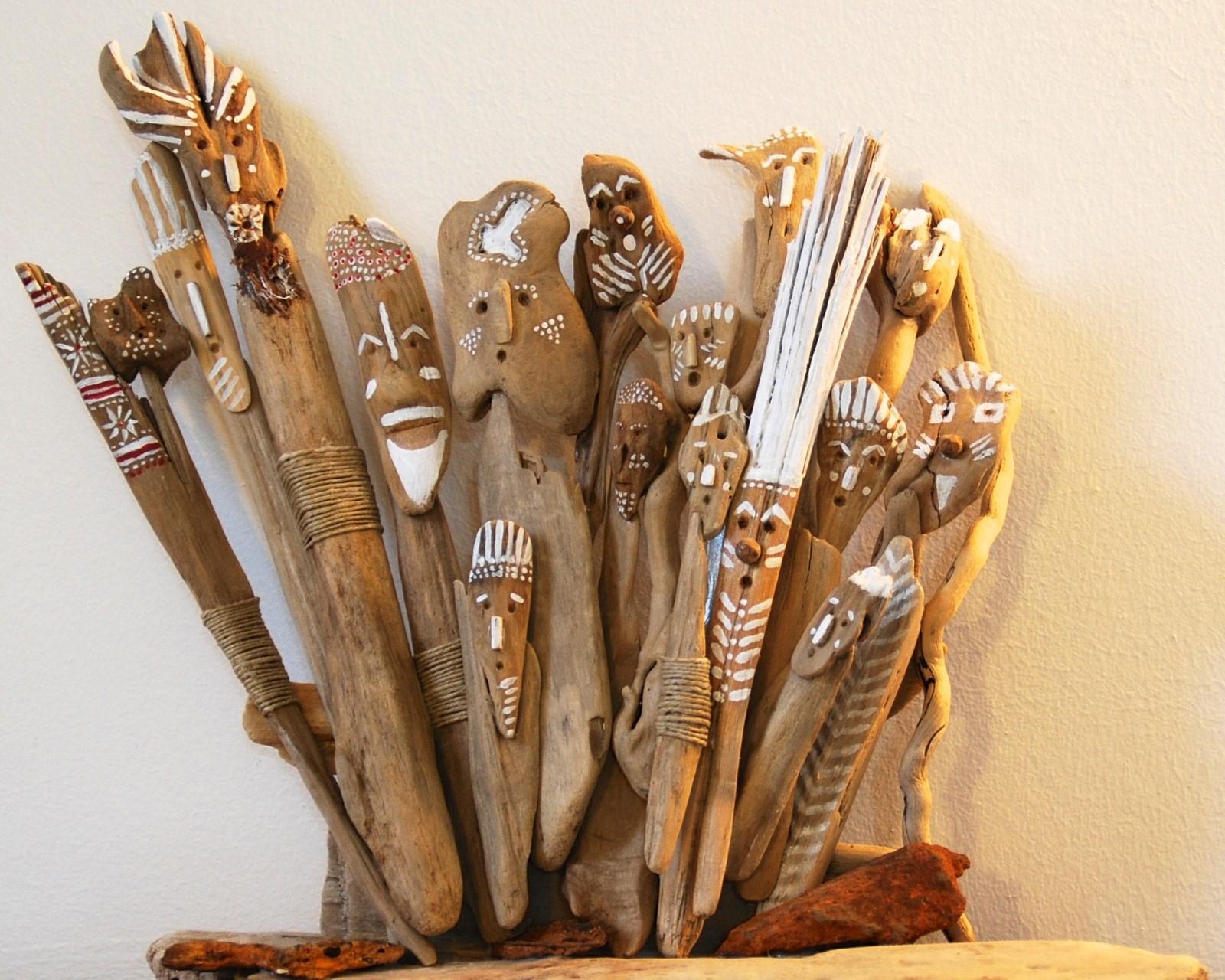 Création en bois flotté