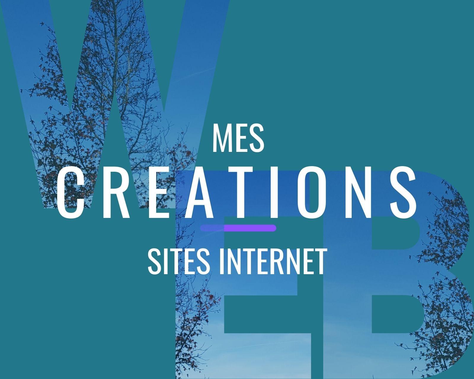 Créations de sites web par MySérapia
