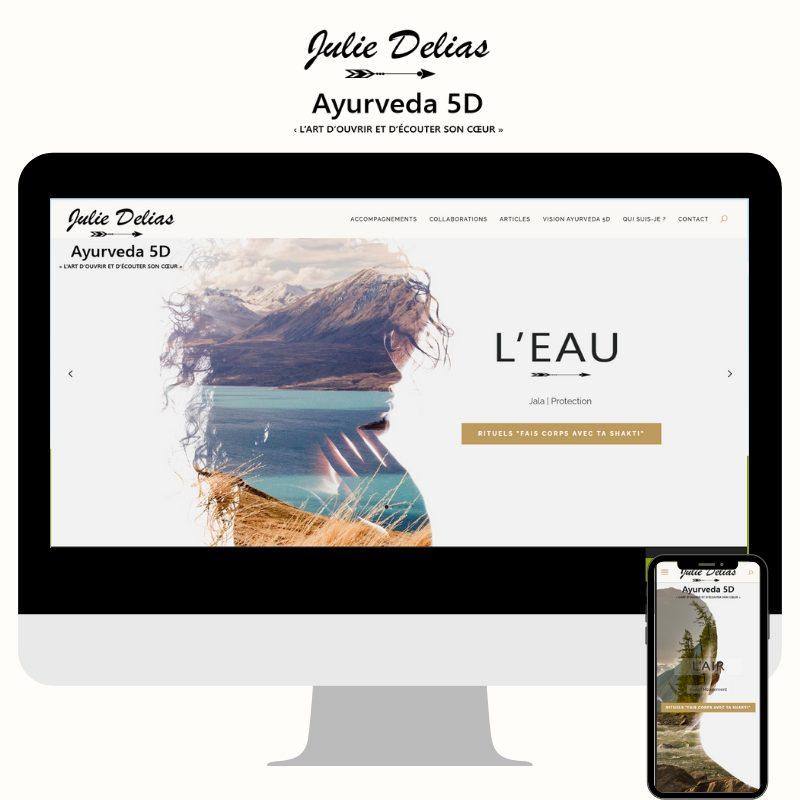Site web www.deliasjulie.com
