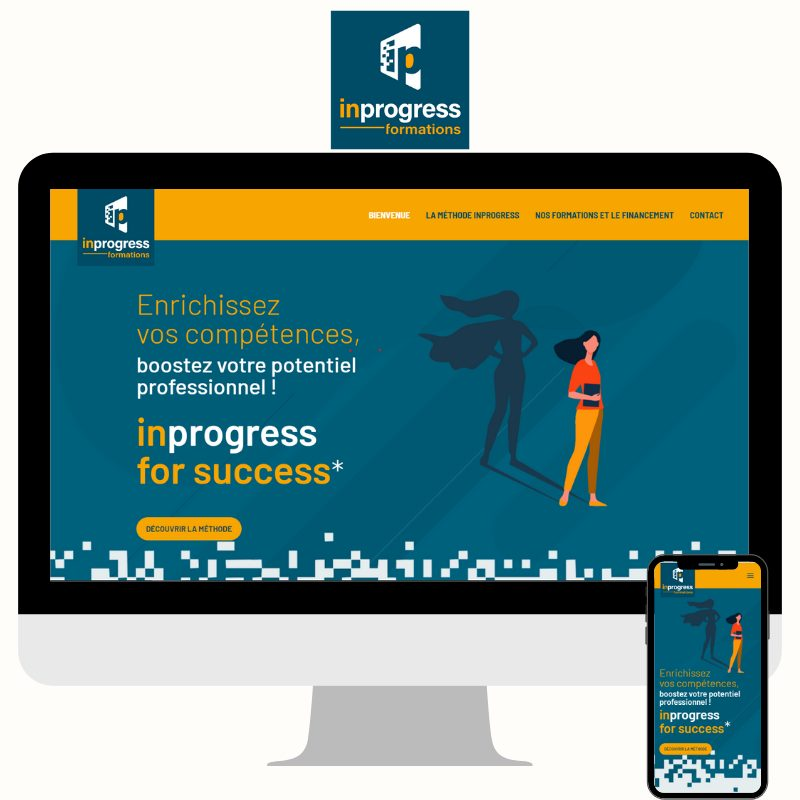 Site web www.inprogress-formations.com